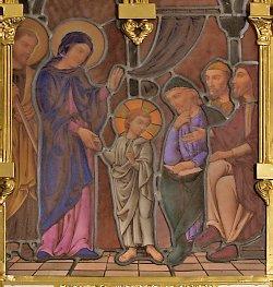 SF Jesús en el templo