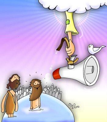 Resultado de imagen de el bautismo de jesus