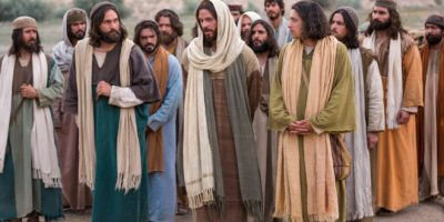 Jesús y sus discípulos 2
