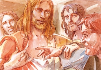 Aparición Resucitado Juan II Pascua