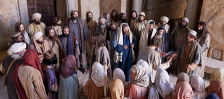 jesús con los judios