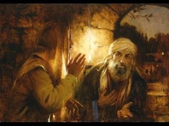 Jesús con Nicodemo 2