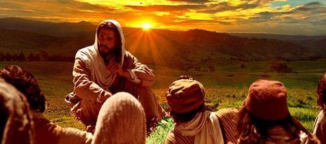 Jesús y discípulos