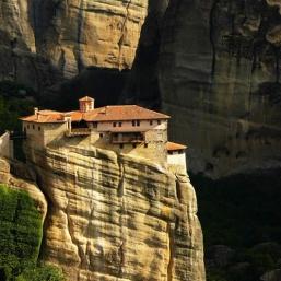 casa sobre la roca
