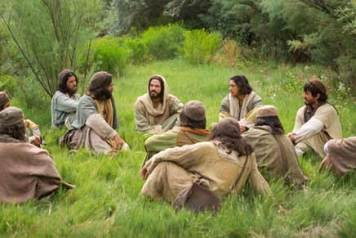 jesús y sus discípulos 8