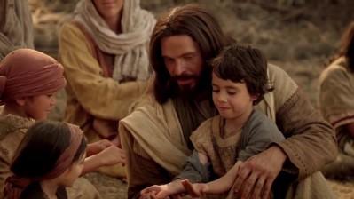 jesus y los niños