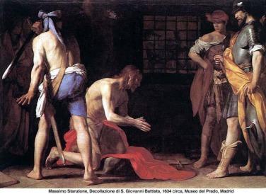 martirio bautista