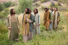 Jesús y sus discípulos 9