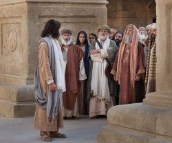 jesus y los judios