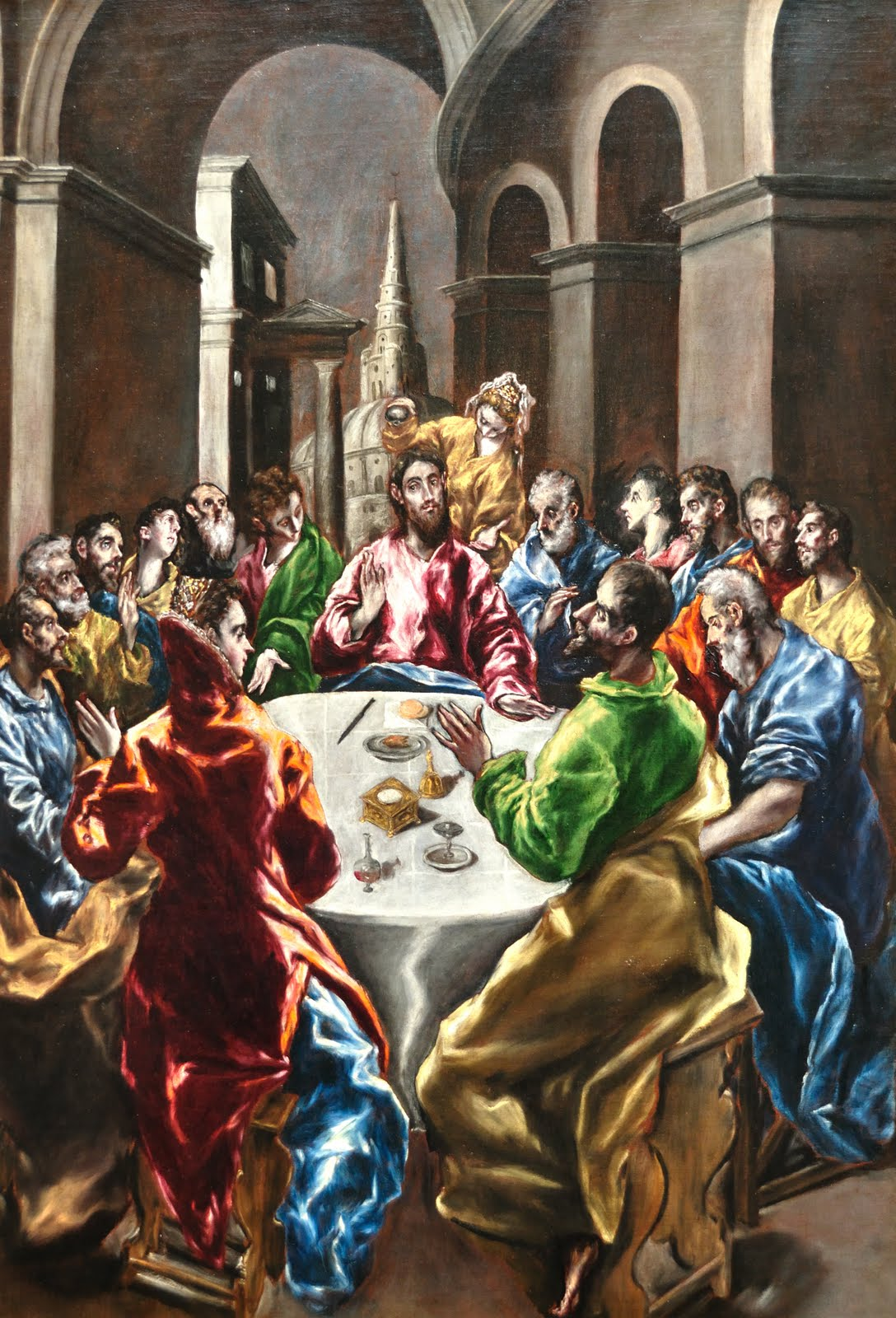 El Greco. The Feast in the House of Simon, 1608/1